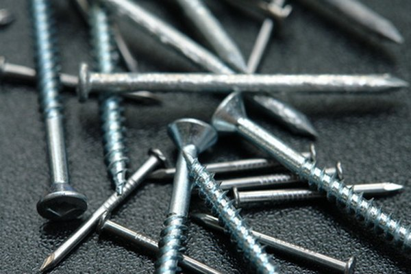 Types Of Nails Amp Screws Homesteady