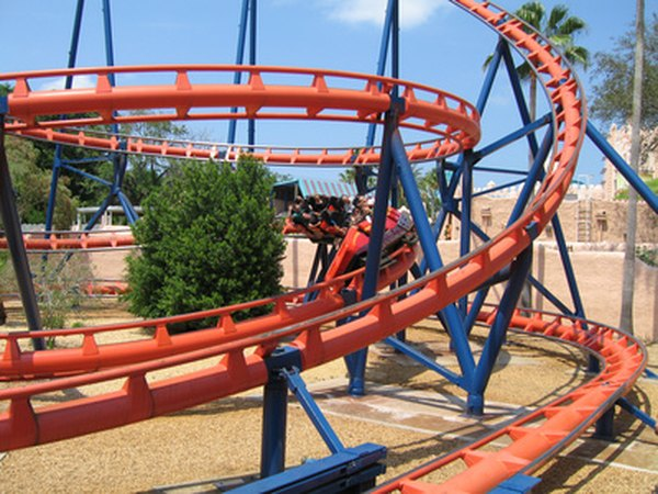 Extreme coaster rides are based on centripetal force.