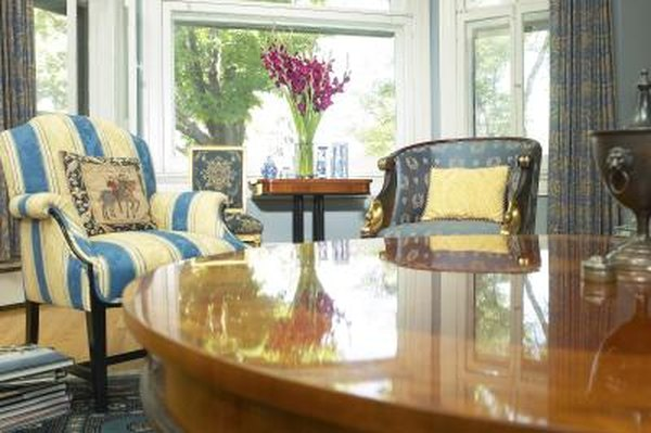 How To Turn A Formal Dining Room Into A Sitting Room