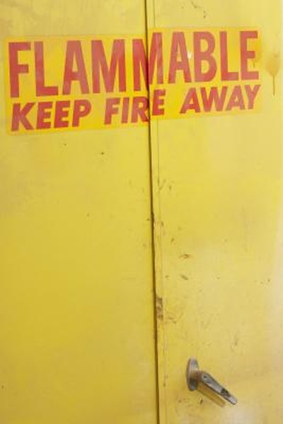 Flammable Cabinet Checklist Homesteady