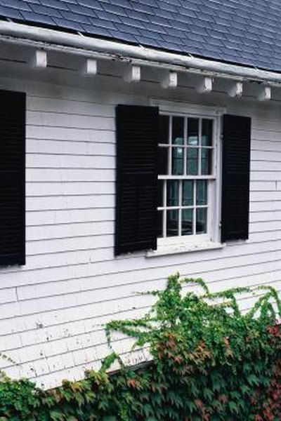 How To Install Aluminum Siding Shutters Homesteady