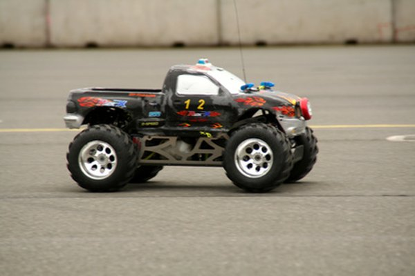 Remote-controlled toys, broken or otherwise, provide perfect motors for demonstration-sized generators.
