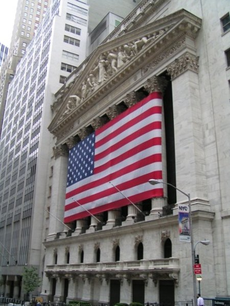 The New York Stock Exchange is one of the world's largest exchanges.