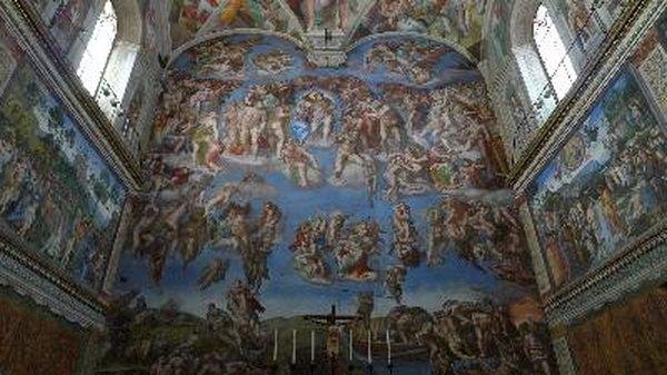 Beleza da arte de Michelangelo