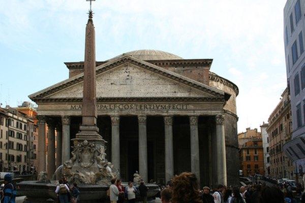 Riqueza arquitetônica e histórica em homenagem aos deuses pagãos