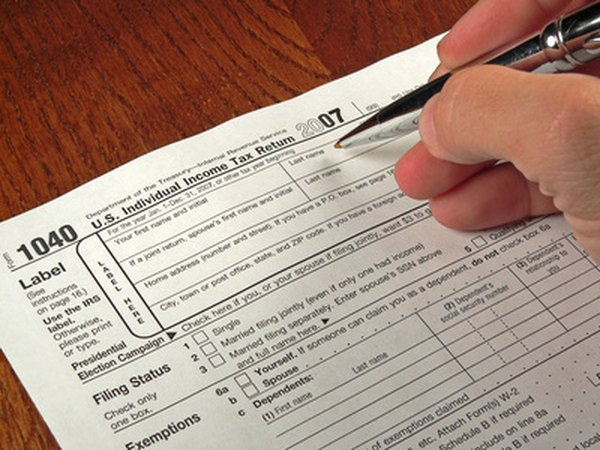 IRA tax breaks are claimed on Form 1040 or Form 1040A.