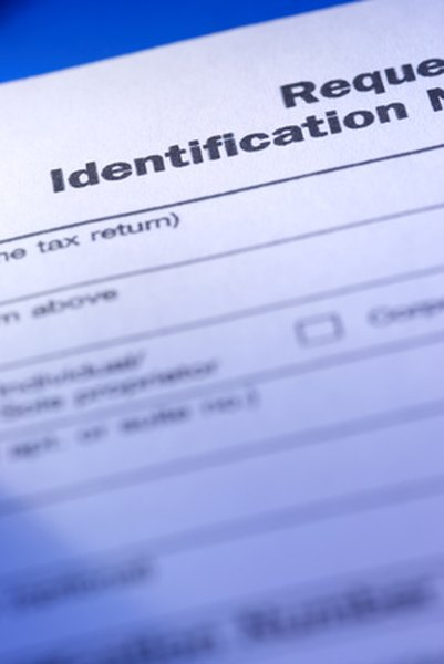 The IRS assigns tax IDs.