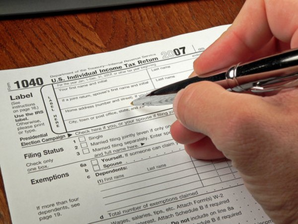 Filling out the form is the final step in filing your taxes.