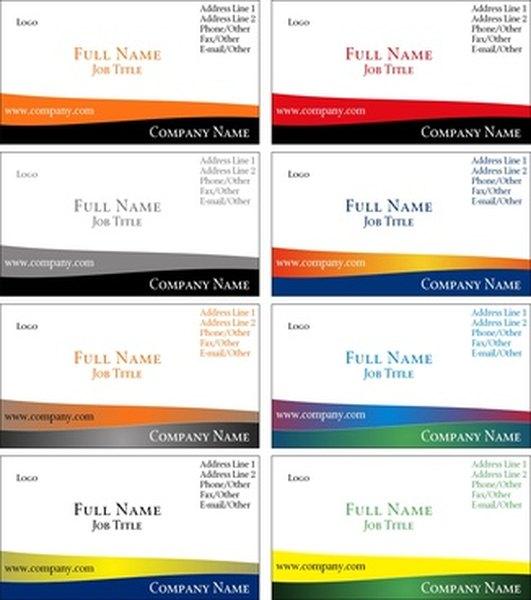 Cómo imprimir tarjetas de negocios en Microsoft Word | Pequeña y ...