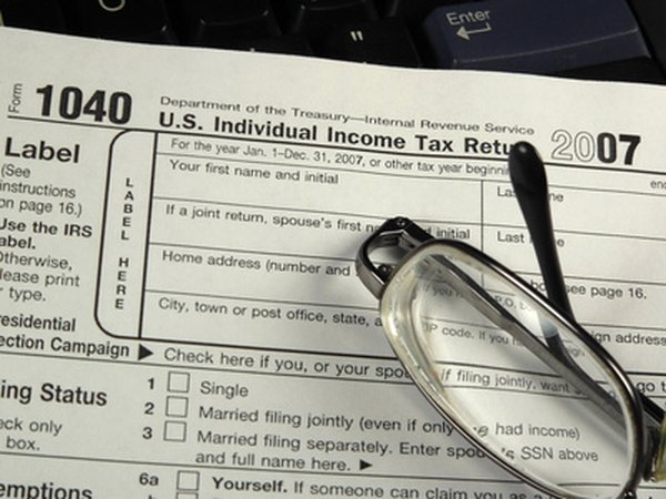 Taxpayers use the 1040 form to calculate taxable income.
