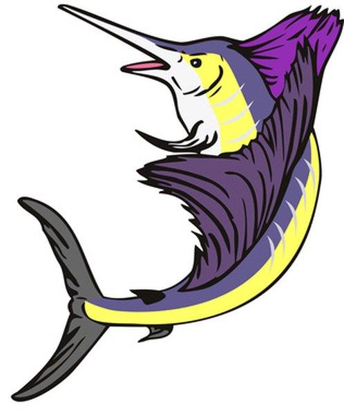 An illustration of a swordfish.