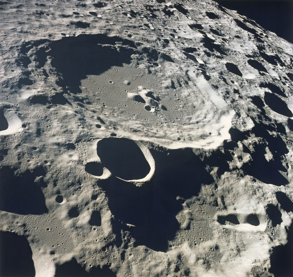what is a round pit on the moon s surface education seattle pi