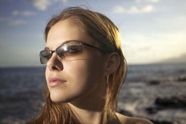 Óculos de sol estilo desportivo