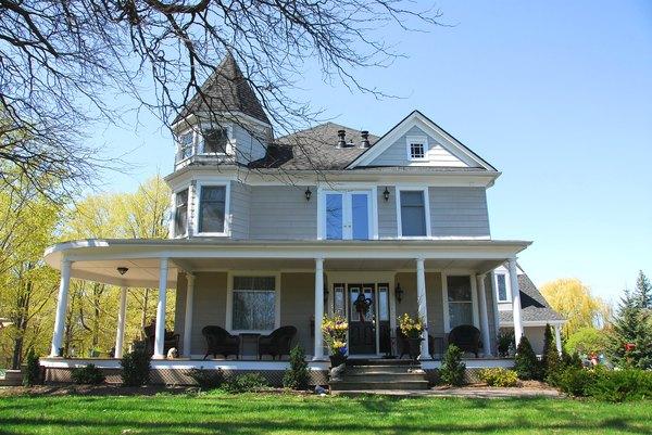 Casa victoriana contemporánea.