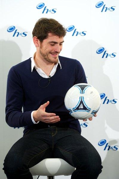 O Iker Casillas é um destacado jogador da seleção espanhola