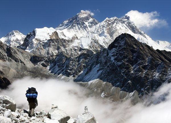 Mt. Everest is th highest peak in the Himalayas.