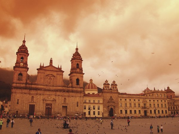 Bogotá é uma capital moderna
