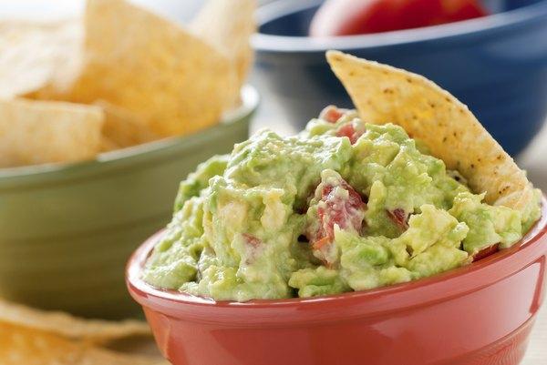 El guacamole es un excelente acompañante para muchos platos.