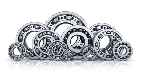 Bearing reduce friction and increase stability and efficiency.