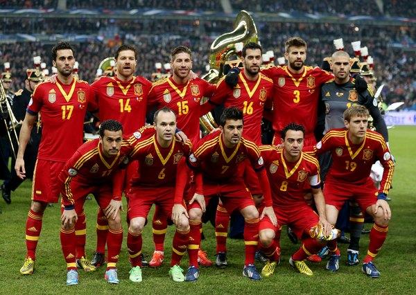 Espanha, a defensora do título