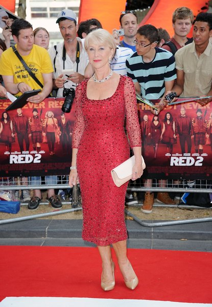 Helen Mirren continua divina!