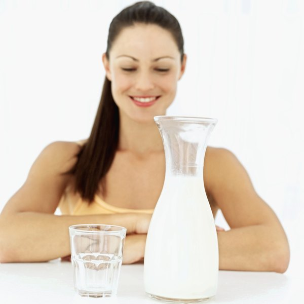 Milk separates into two types of protein -- casein and whey.