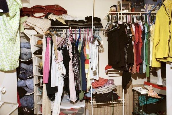 A reorganização do guarda-roupa deixará tudo fácil de encontrar