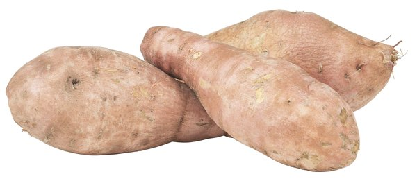Sweet potatoes contain several vitamins.