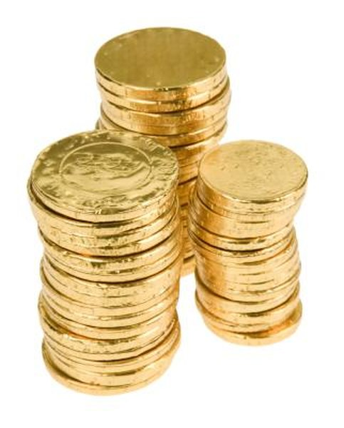 Physical gold is a common investment commodity.