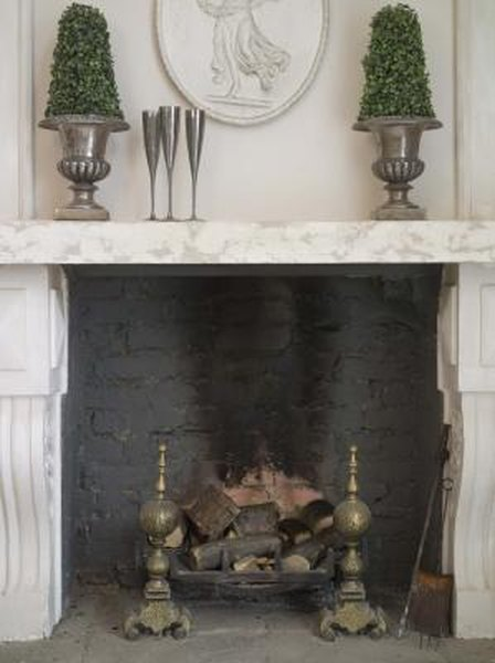 How To Tile Around A Mantel Fireplace