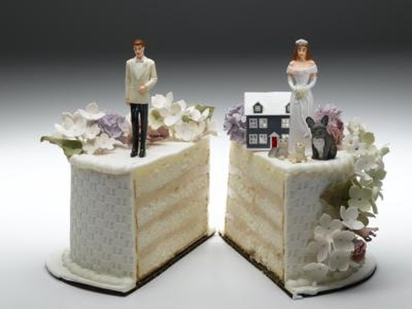 In a divorce, the couple negotiates to determine how the retirement assets will be divided.