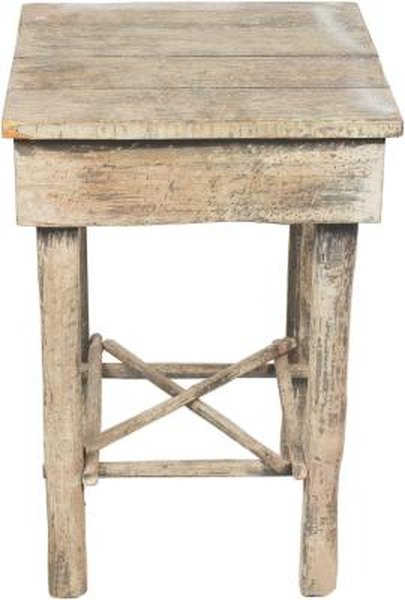 Miraculous Rustic Furniture Made Of Slab Wood Home Guides Sf Gate Theyellowbook Wood Chair Design Ideas Theyellowbookinfo