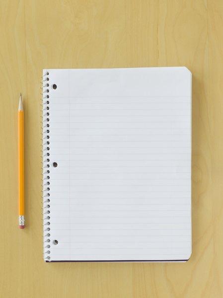 Prepara tu cuaderno de registro.