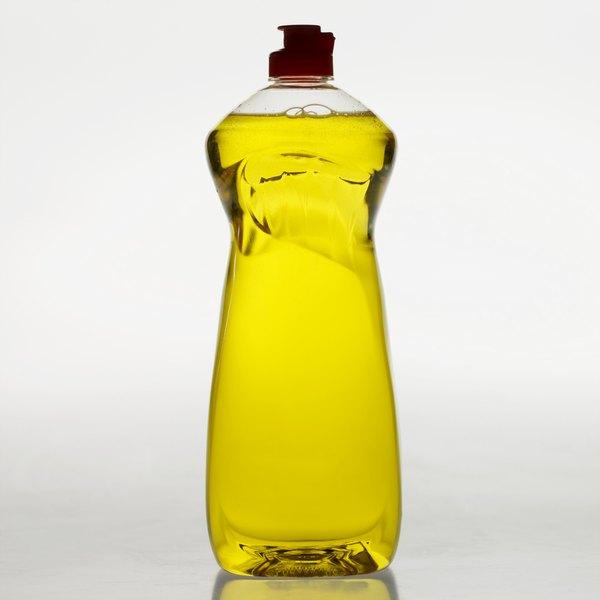 Liquid dish soaps work best in homemade pest control sprays.