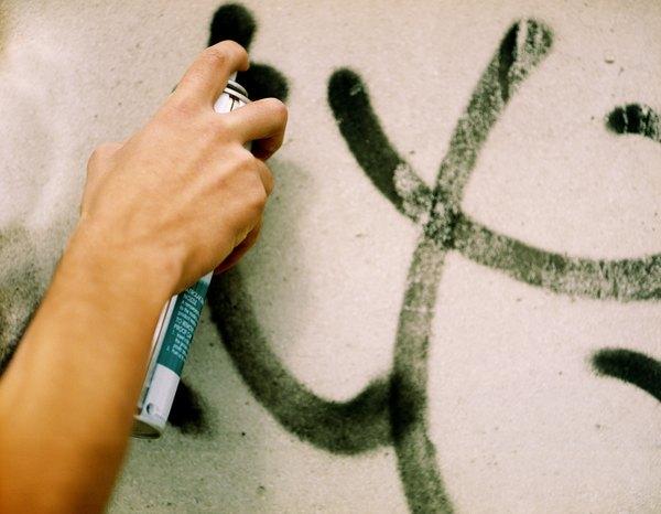 Cuidado com as paredes pintadas de preto