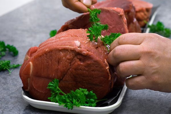 Meats are protein-dense.