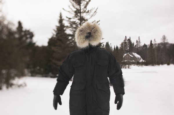 Wind combined with freezing temperatures can be dangerous, so bundle up.