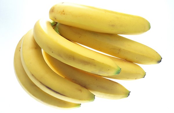 Bananas are a well-known source of potassium.