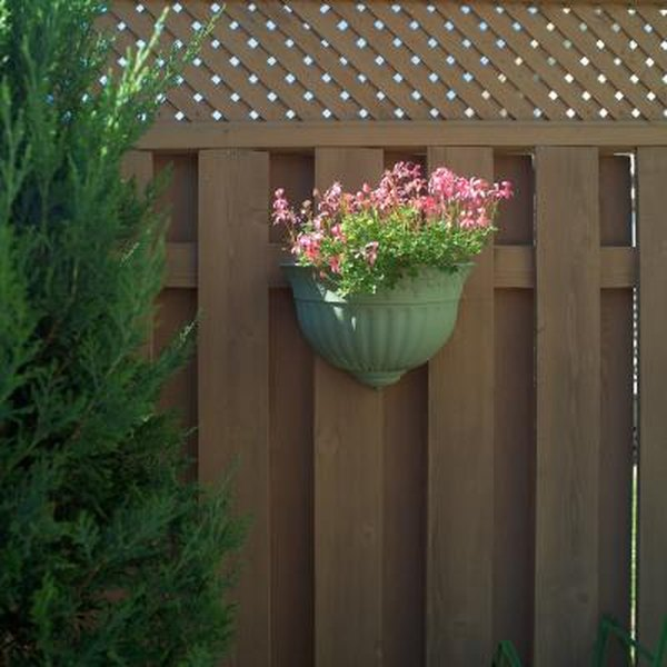 How To Attach A Planter Box To A Fence Home Guides Sf Gate