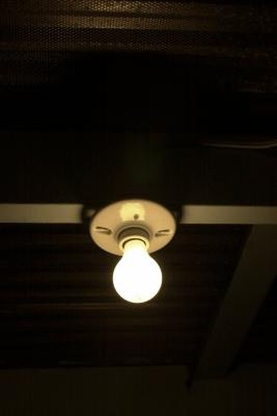 How to replace an old ceramic light socket home guides sf gate aloadofball Choice Image