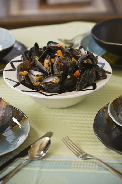 Shellfish is a richer source of iron than chicken.