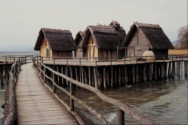Las casas de entramado de madera son típicas de Alemania.