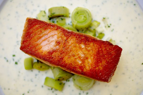 El salmón salvaje es una potente fuente de proteínas.