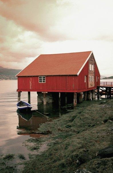 Uma casa na praia, Bergen, Noruega
