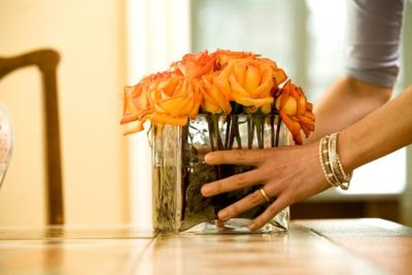 How To Cut Roses For Square Vases Home Guides Sf Gate