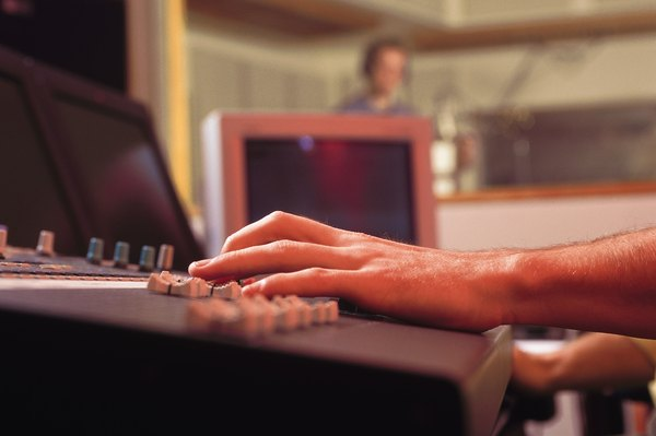 Sound engineers can earn up to $150 an hour for high-budget recordings.