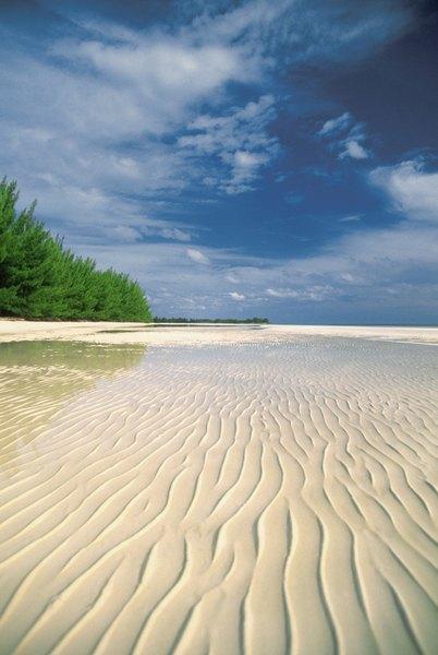 Las grandes playas del Caribe son perfectas para dar largos paseos.