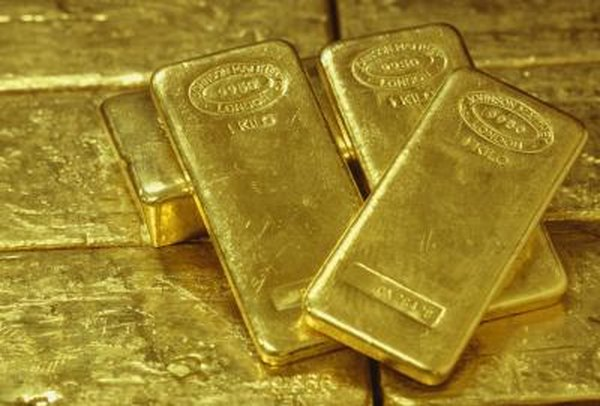 One way to buy gold is to purchase gold ETF shares.