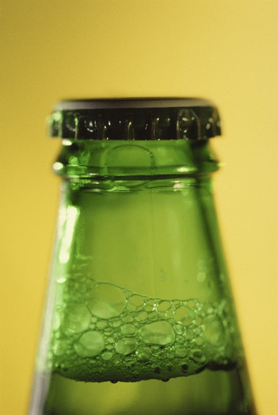 Soda and other carbonated beverages are bottled under pressure.