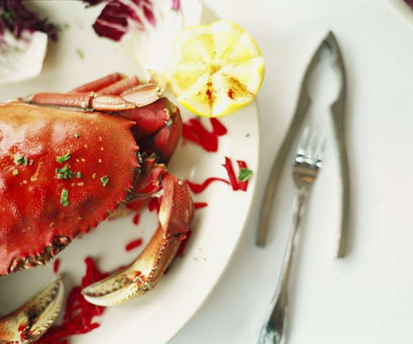 Shellfish like crab and lobster are rich sources of zinc.